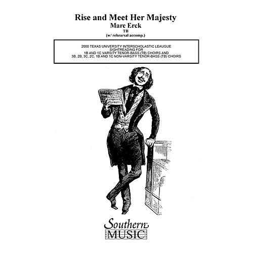 Hal Leonard Rise And Meet Her Majesty (Choral Music/Octavo Sacred 2-part) TB Composed by Erck, Marc thumbnail