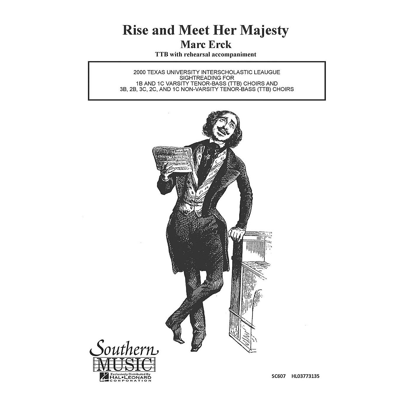Hal Leonard Rise And Meet Her Majesty (Choral Music/Octavo Sacred Ttb) TTB Composed by Erck, Marc thumbnail