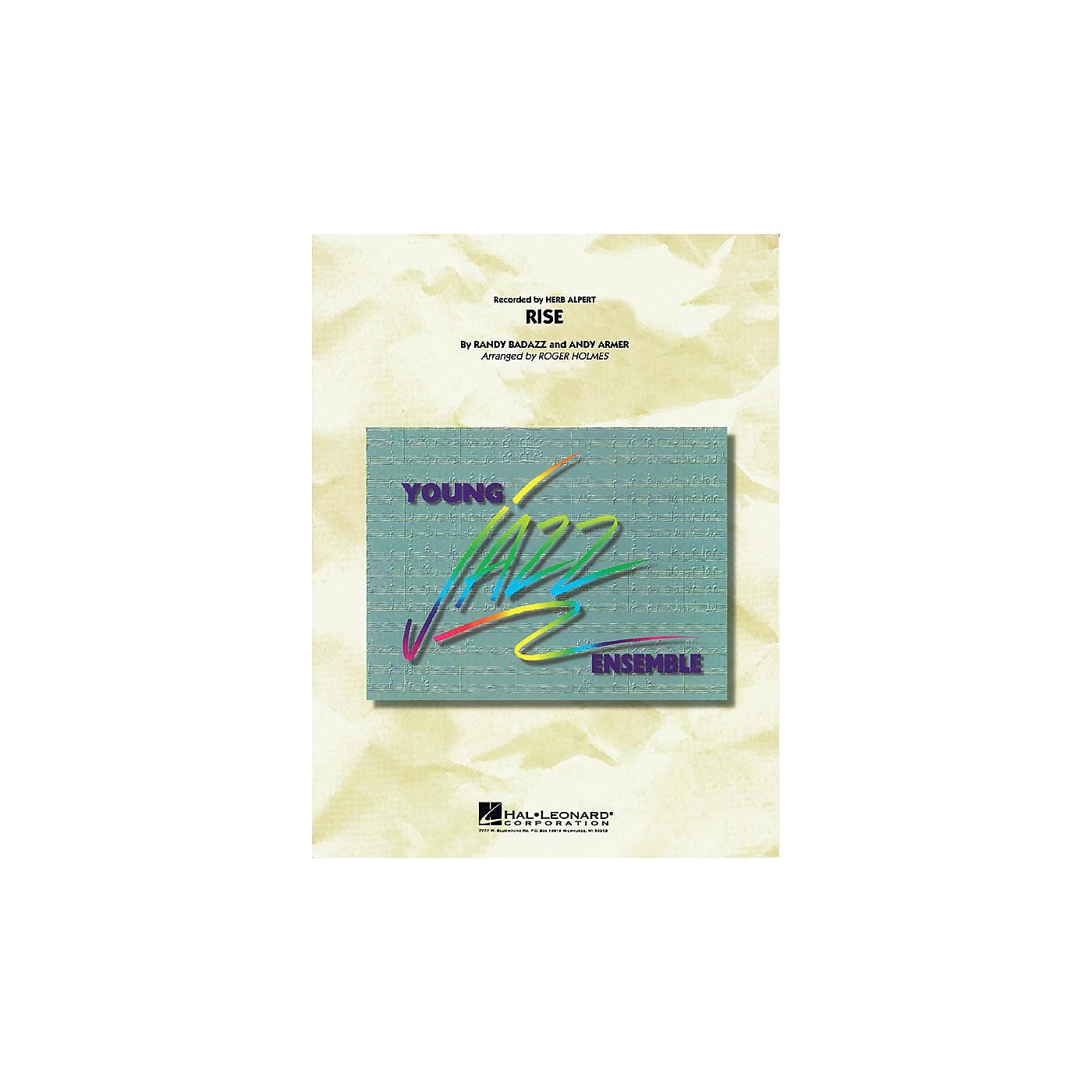 Hal Leonard Rise Jazz Band Level 3 by Herb Alpert Arranged by Roger Holmes thumbnail