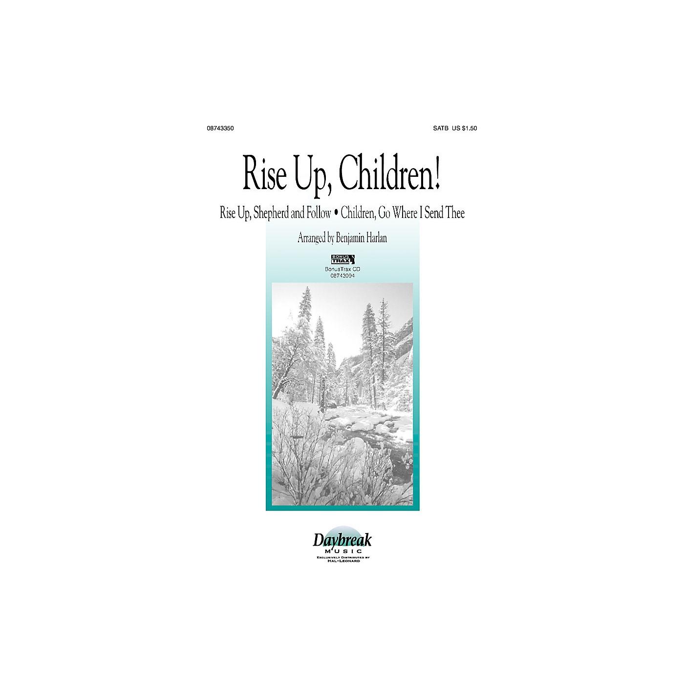 Daybreak Music Rise Up, Children! (SATB) SATB arranged by Benjamin Harlan thumbnail