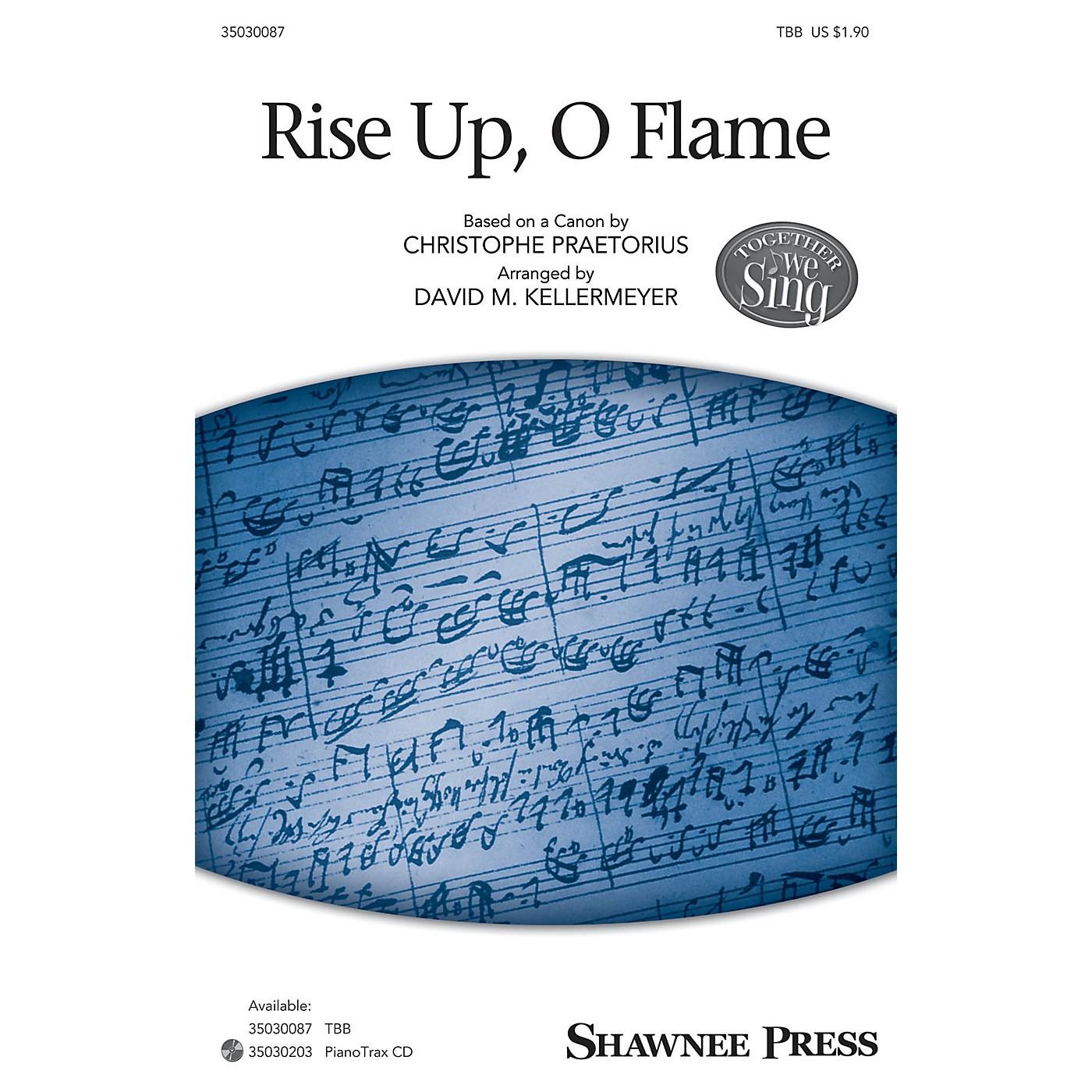 Shawnee Press Rise Up, O Flame (Together We Sing Series) TBB arranged by David M. Kellermeyer thumbnail