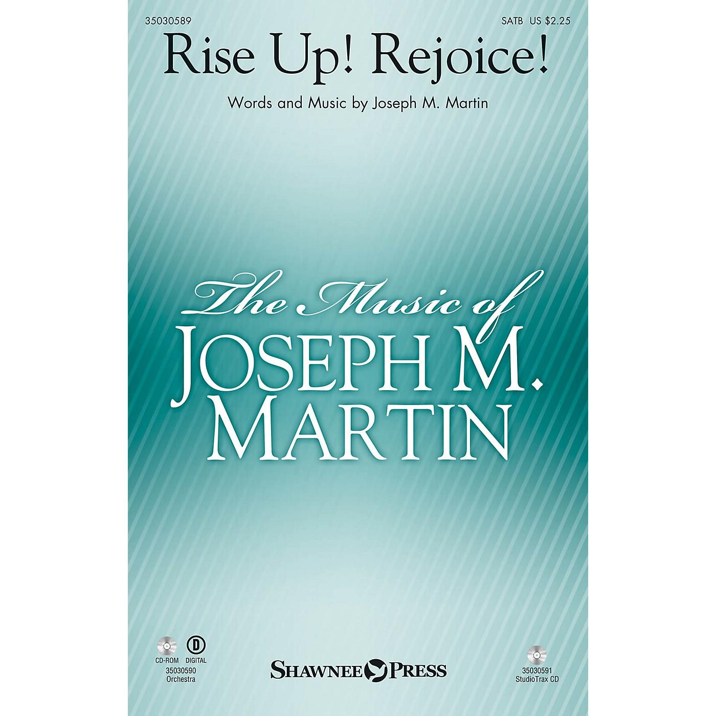 Shawnee Press Rise Up! Rejoice! ORCHESTRA ACCOMPANIMENT Composed by Joseph M. Martin thumbnail