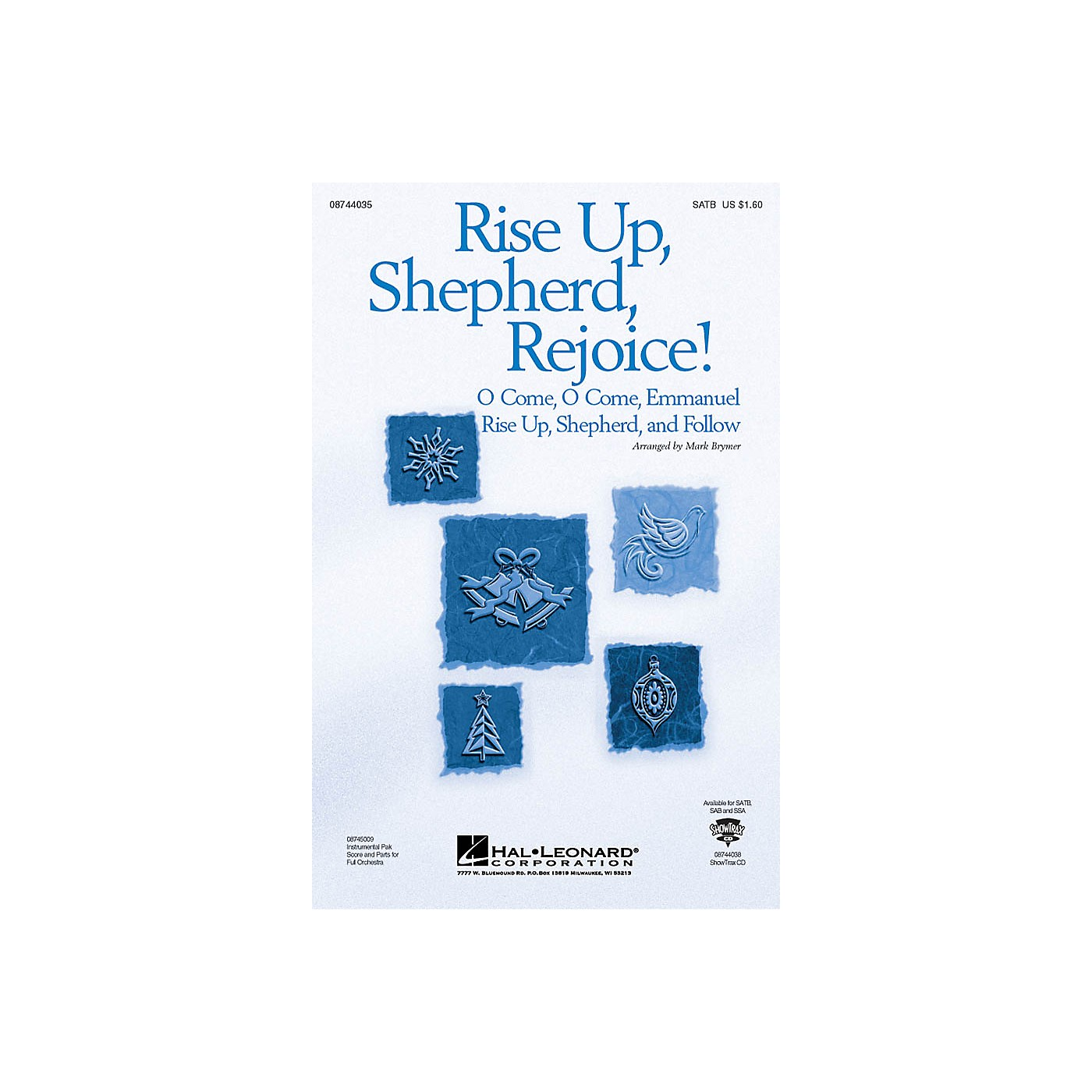 Hal Leonard Rise Up, Shepherd, Rejoice! (from The Christmas Suite) ShowTrax CD Arranged by Mark Brymer thumbnail