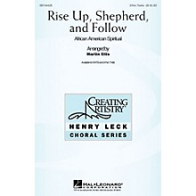 Hal Leonard Rise Up Shepherd and Follow 3 Part Treble arranged by Martin Ellis