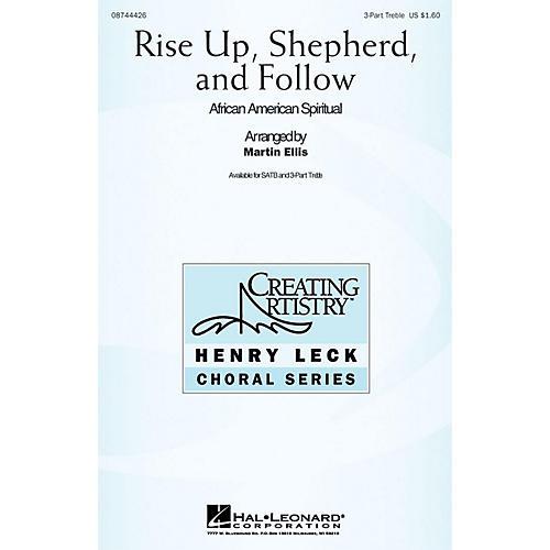 Hal Leonard Rise Up Shepherd and Follow 3 Part Treble arranged by Martin Ellis thumbnail