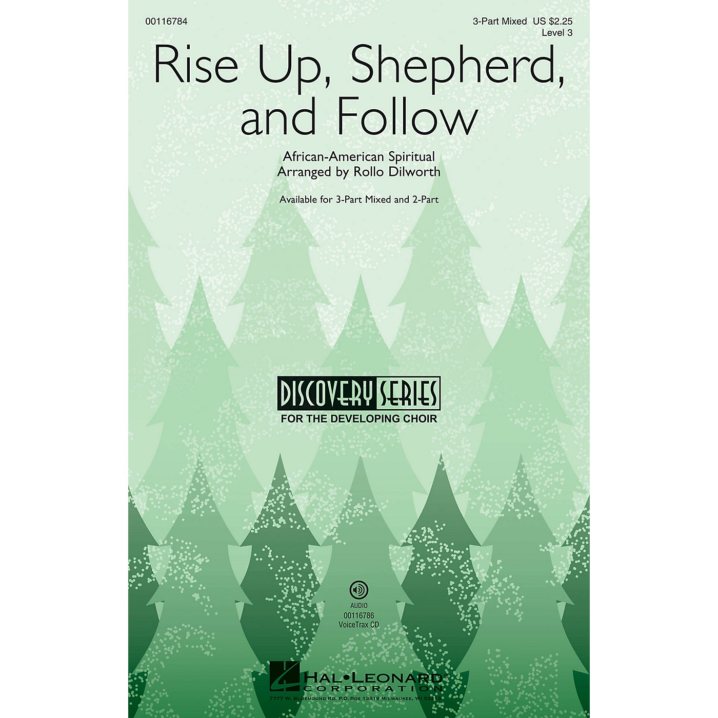 Hal Leonard Rise Up, Shepherd, and Follow (Discovery Level 3) 2-Part Arranged by Rollo Dilworth thumbnail