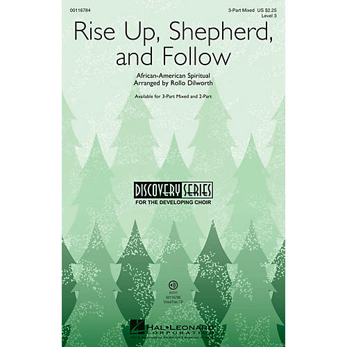 Hal Leonard Rise Up, Shepherd, and Follow (Discovery Level 3) VoiceTrax CD Arranged by Rollo Dilworth thumbnail