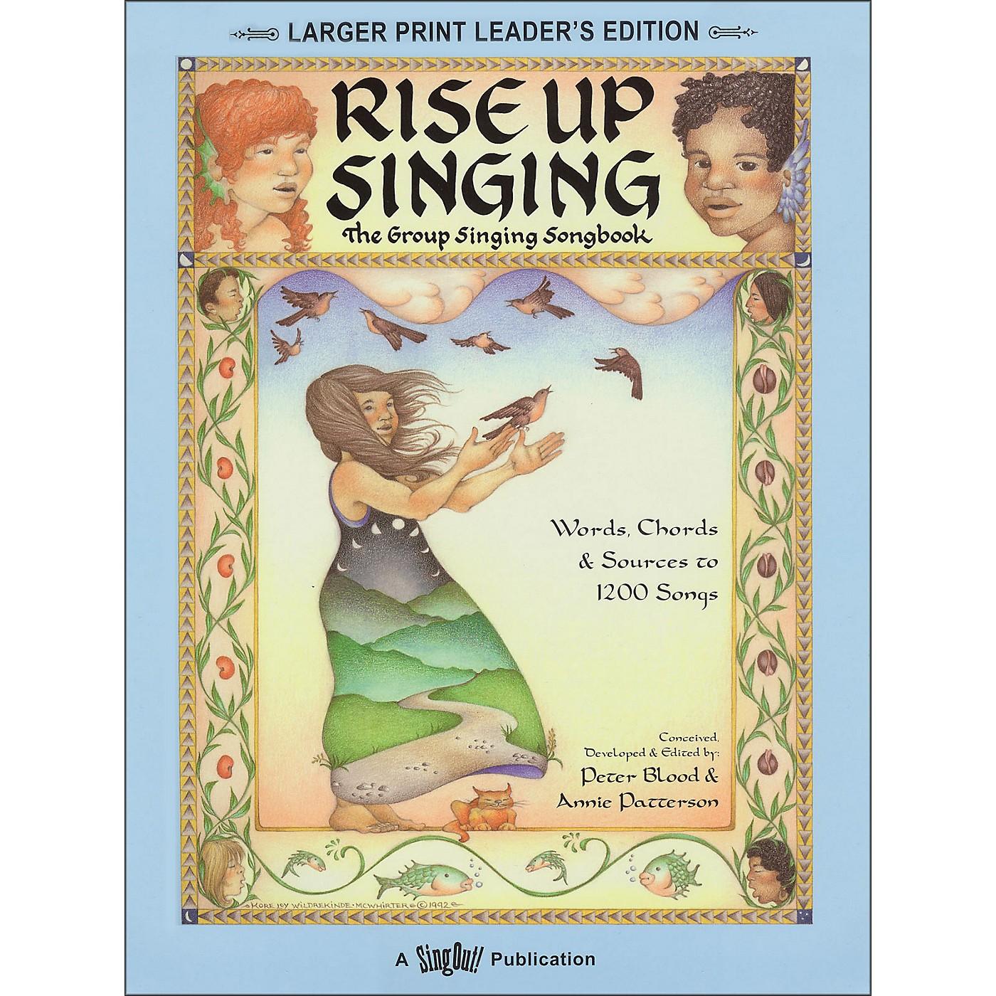 Hal Leonard Rise Up Singing (Large Print Edition) with Spiral Binding thumbnail