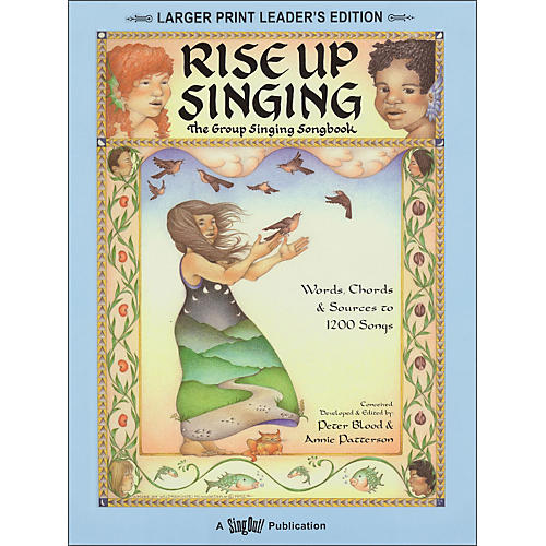 Hal Leonard Rise Up Singing (Large Print Edition) with Spiral Binding thumbnail