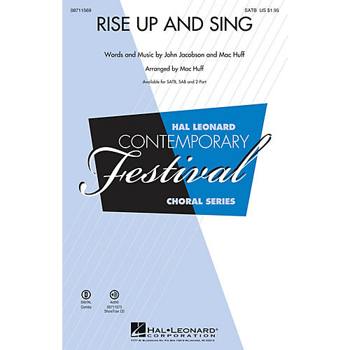 Hal Leonard Rise Up and Sing ShowTrax CD Composed by Mac Huff thumbnail