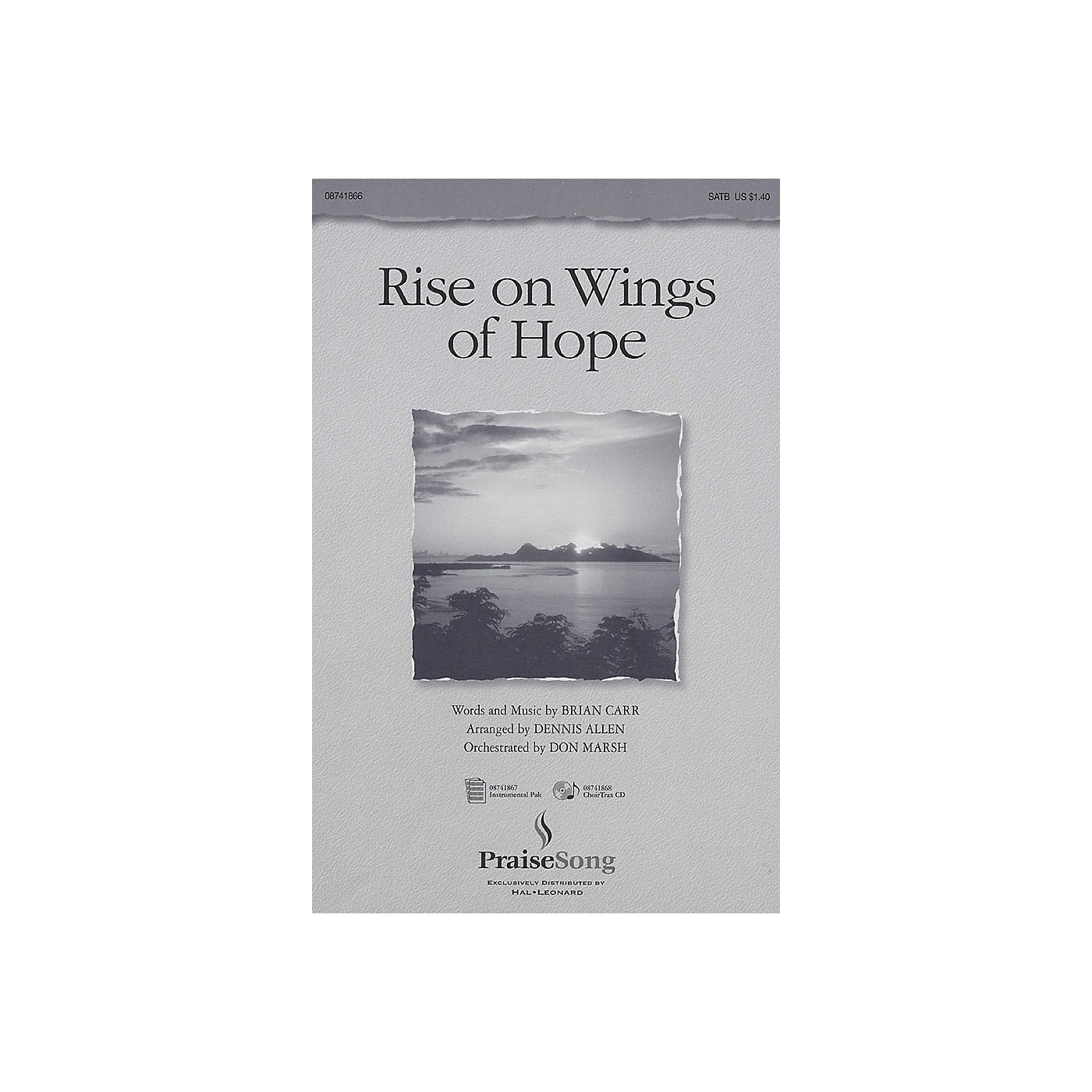 PraiseSong Rise on Wings of Hope IPAKO Arranged by Don Marsh thumbnail