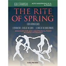 Carl Fischer Rite of Spring - Mvts. I & II for Alto Sax & Piano (Book + Sheet Music)