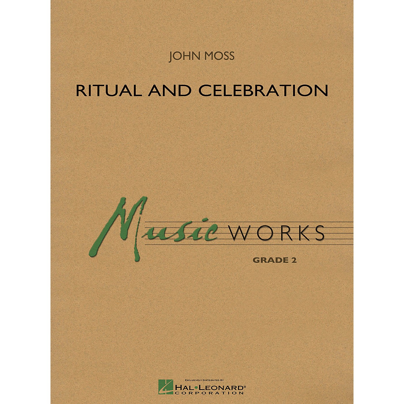 Hal Leonard Ritual and Celebration Concert Band Level 2 Composed by John Moss thumbnail