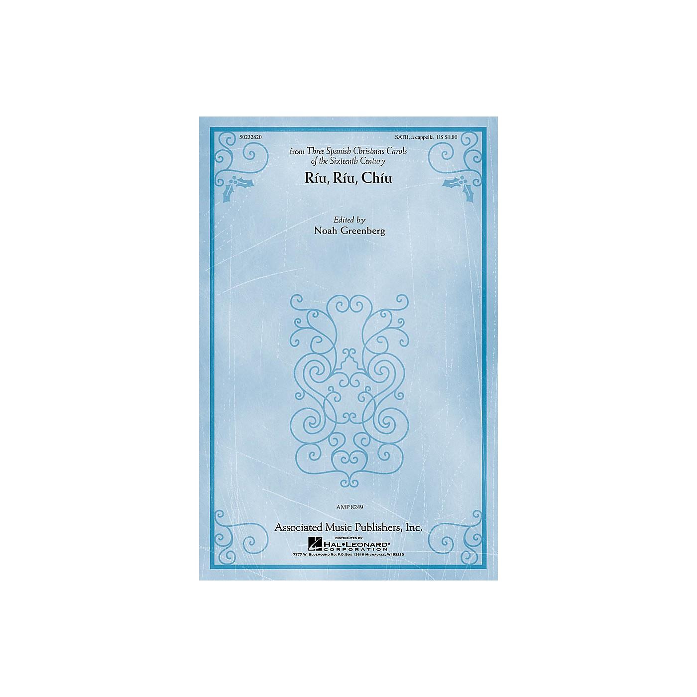 G. Schirmer Riu, Riu, Chiu (from Three Spanish Christmas Carols) SATB a cappella by Anonymous edited Noah Greenberg thumbnail