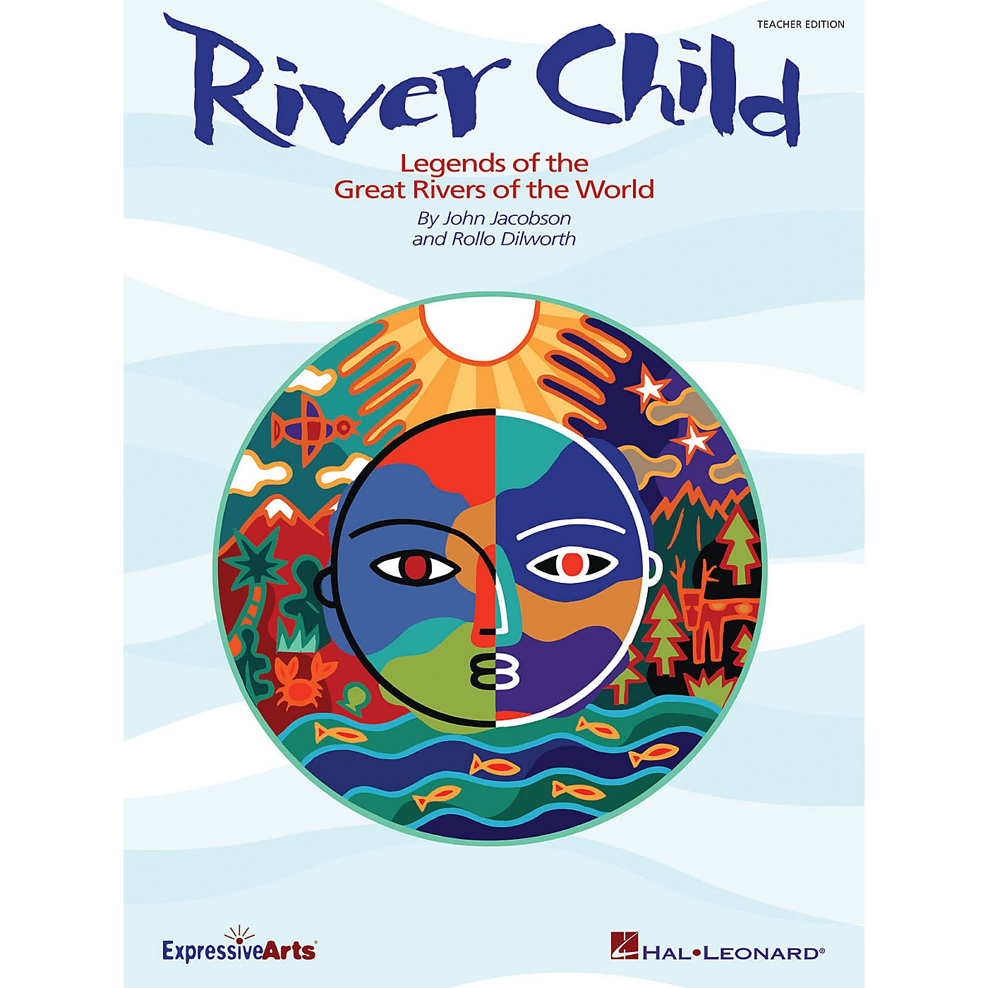 Hal Leonard River Child (Legends of the Great Rivers of the World) PREV CD Composed by John Jacobson thumbnail