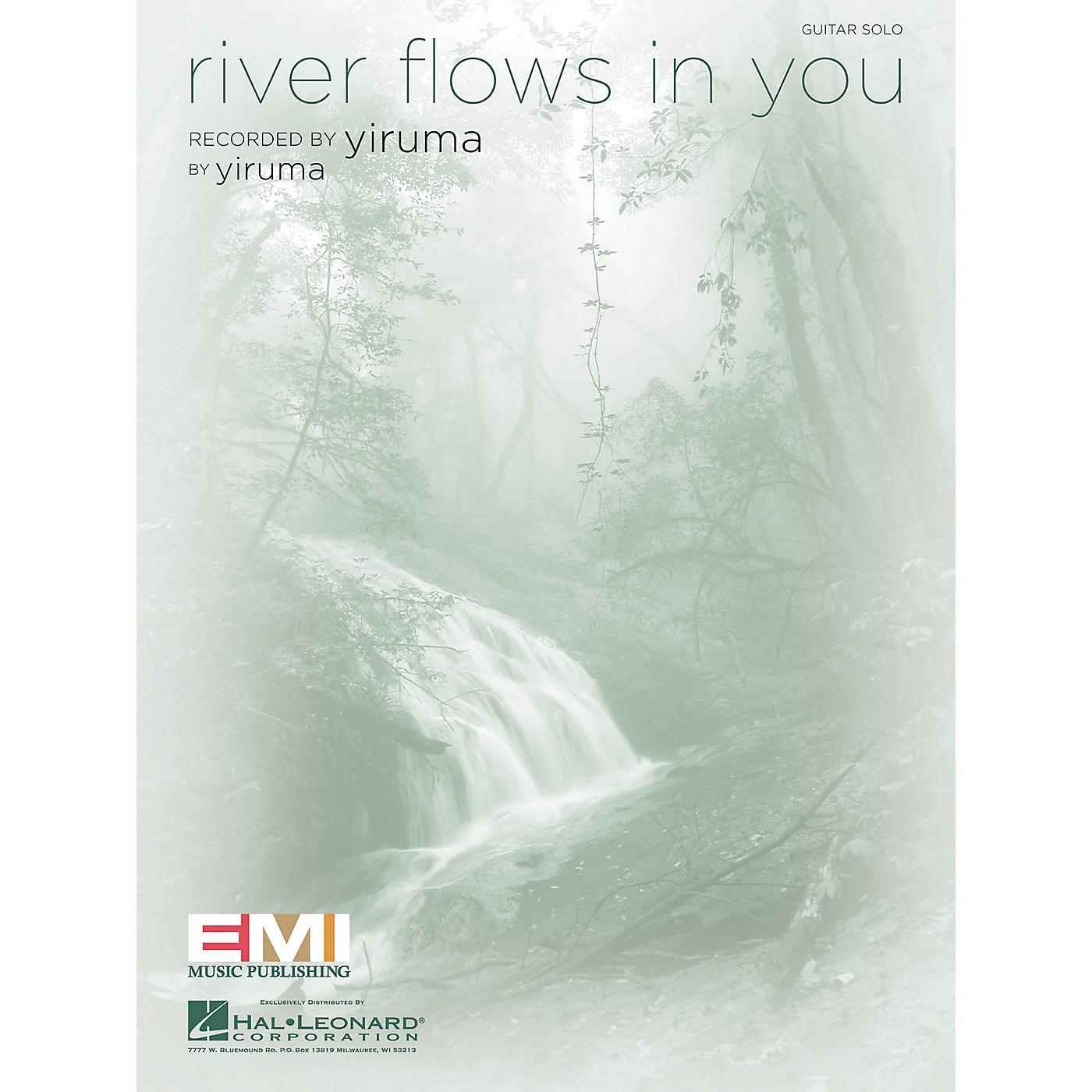 Hal Leonard River Flows in You Guitar Sheet Series Performed by Yiruma thumbnail