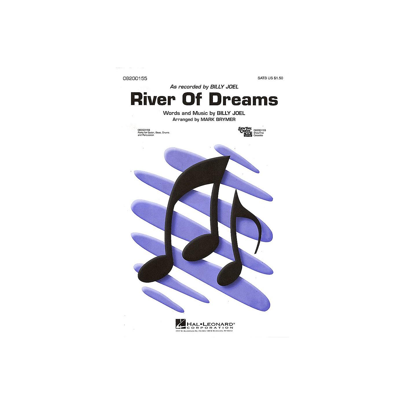 Hal Leonard River of Dreams SATB by Billy Joel arranged by Mark Brymer thumbnail