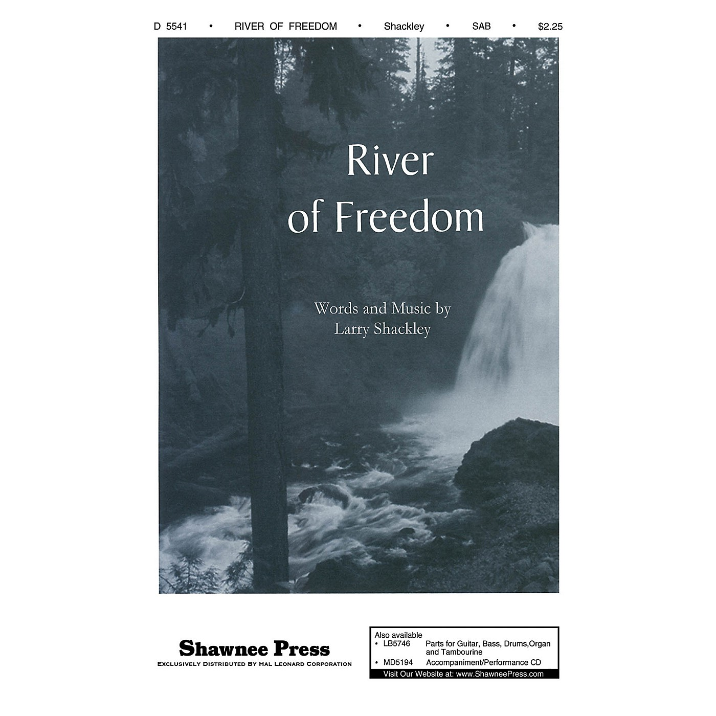 Shawnee Press River of Freedom SAB composed by Larry Shackley thumbnail