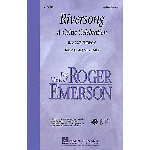 Hal Leonard Riversong (A Celtic Celebration) 2-Part Composed by Roger Emerson thumbnail