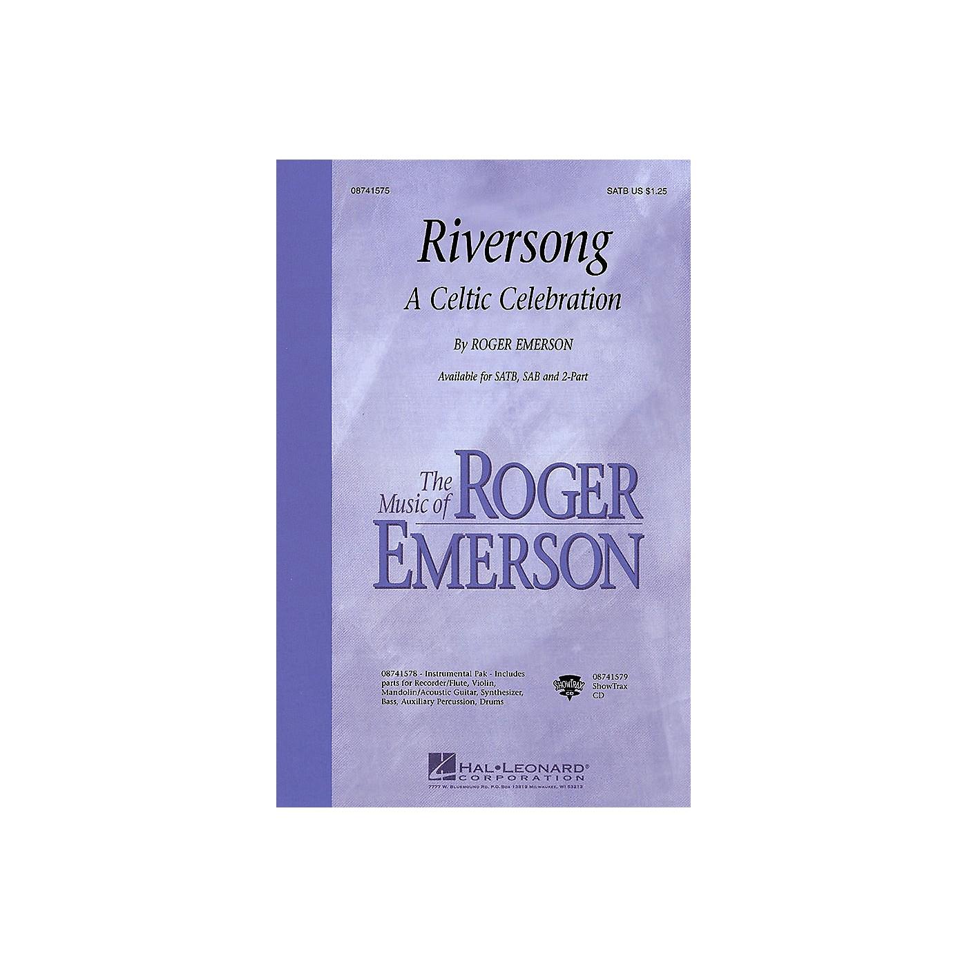 Hal Leonard Riversong (A Celtic Celebration) SAB Composed by Roger Emerson thumbnail