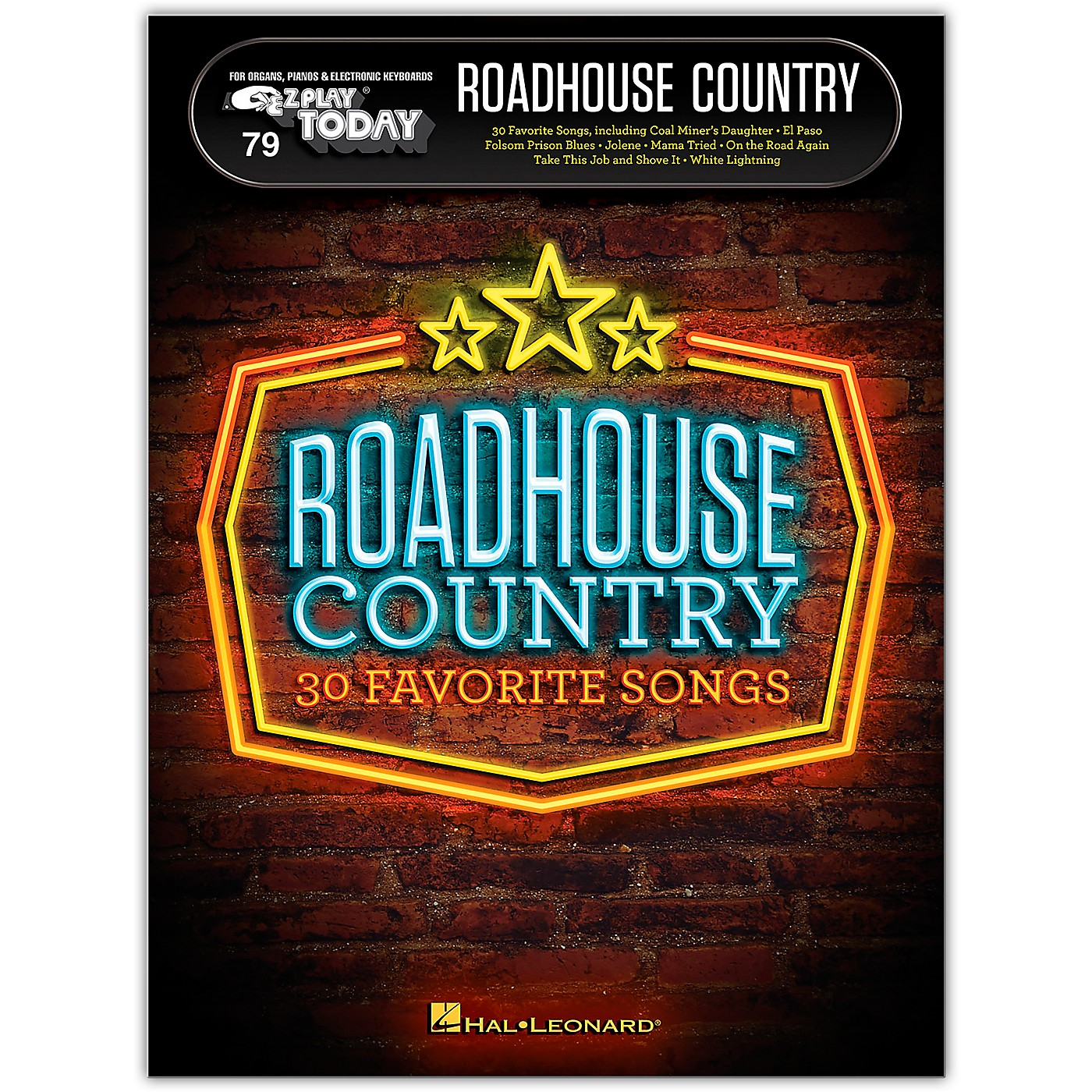Hal Leonard Roadhouse Country E-Z Play Today Volume 79 thumbnail