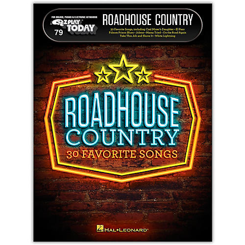 Hal Leonard Roadhouse Country E-Z Play Today Volume 79 thumbnail