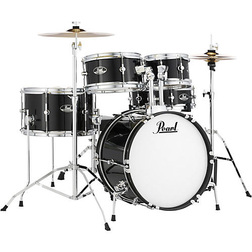 Pearl Roadshow Jr. Drum Set with Hardware and Cymbals thumbnail