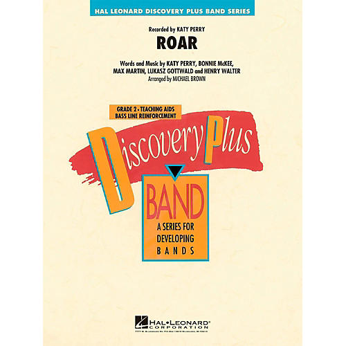 Hal Leonard Roar - Discovery Plus Concert Band Level 2 thumbnail