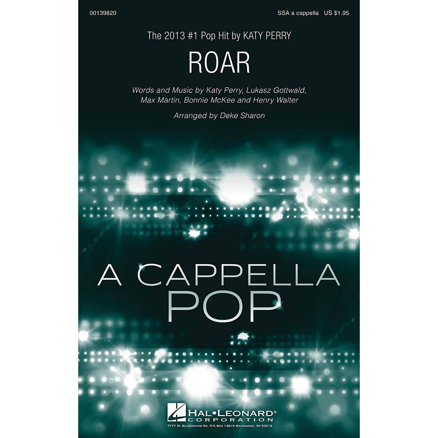 Hal Leonard Roar SSA A Cappella by Katy Perry arranged by Deke Sharon thumbnail