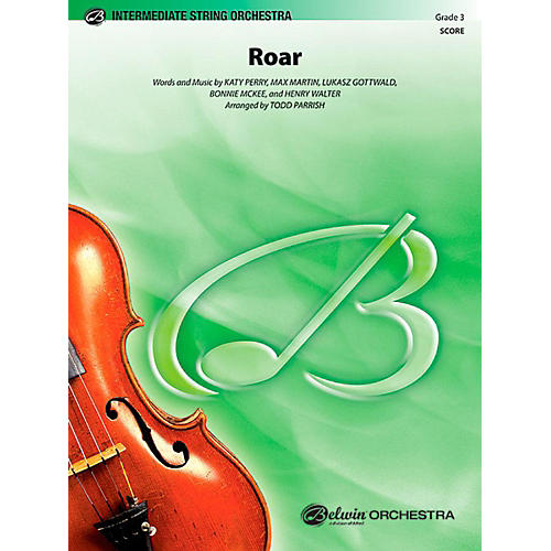 Alfred Roar String Orchestra Level 3 Set thumbnail