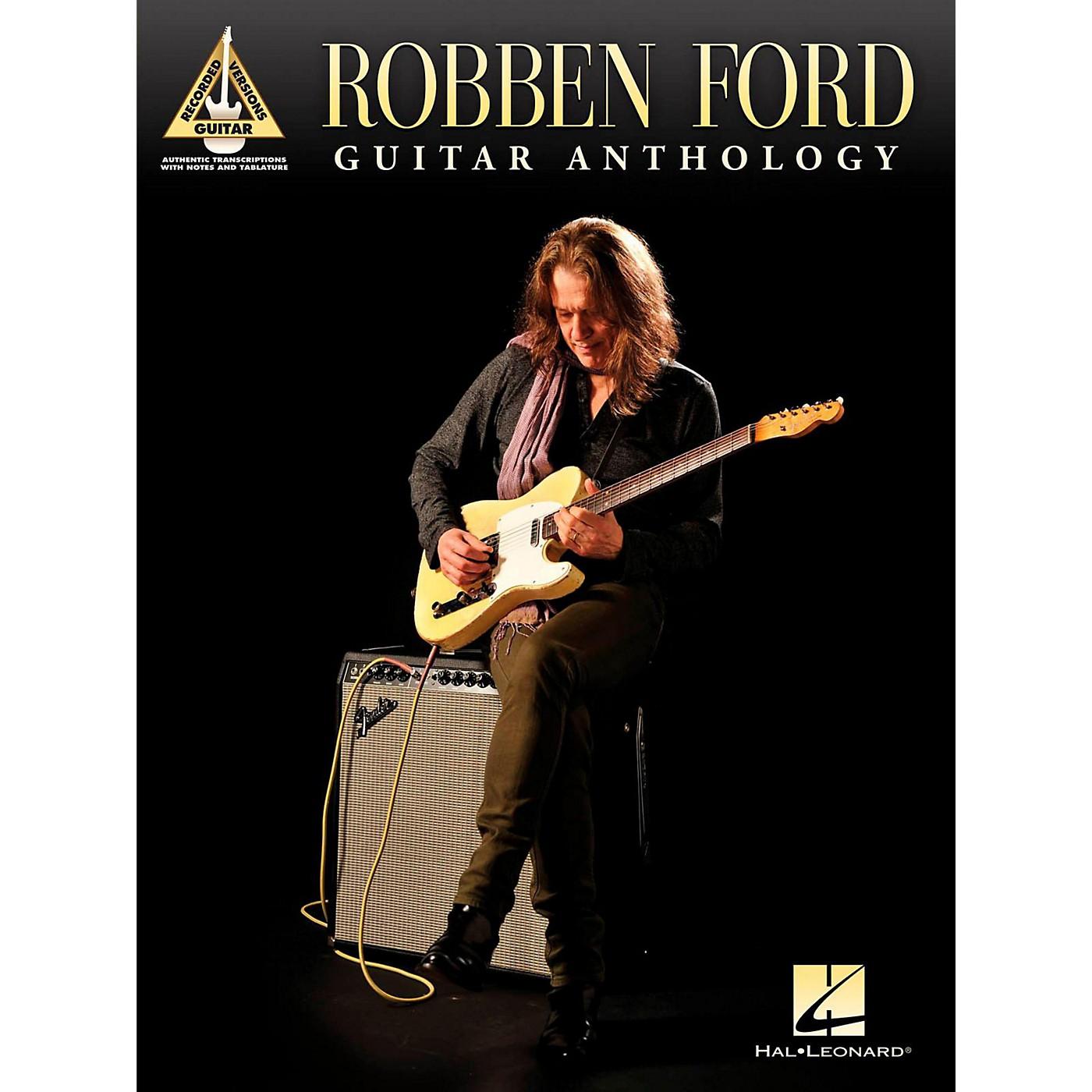 Hal Leonard Robben Ford - Guitar Anthology Tab Songbook thumbnail