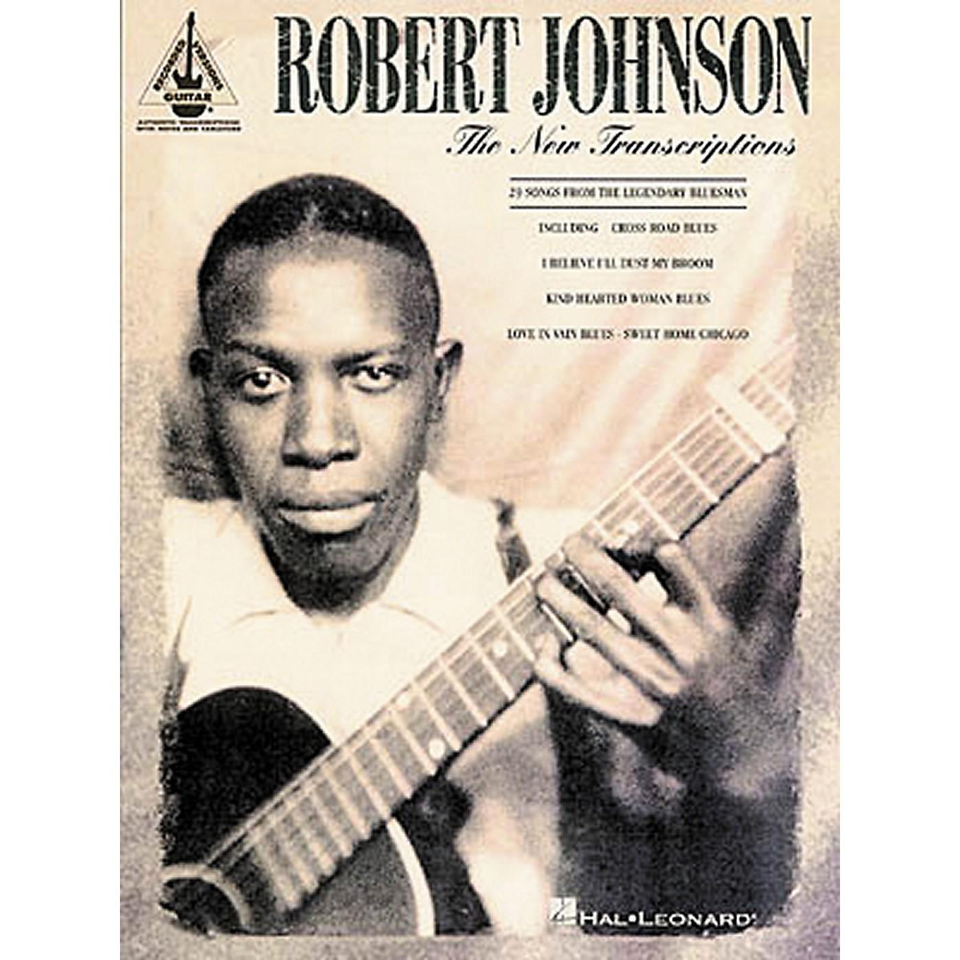 Hal Leonard Robert Johnson - The New Transcriptions Guitar Tab Songbook thumbnail