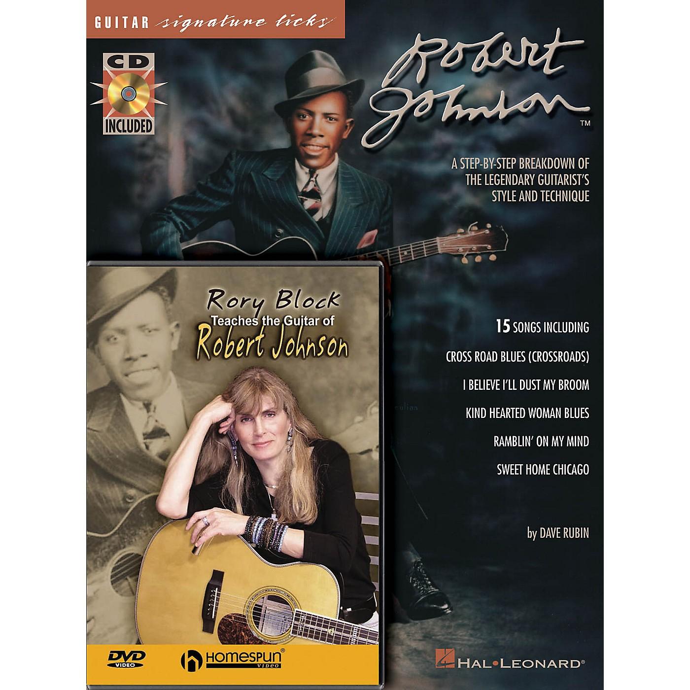 Homespun Robert Johnson Bundle Pack Homespun Tapes Series Written by Rory Block thumbnail