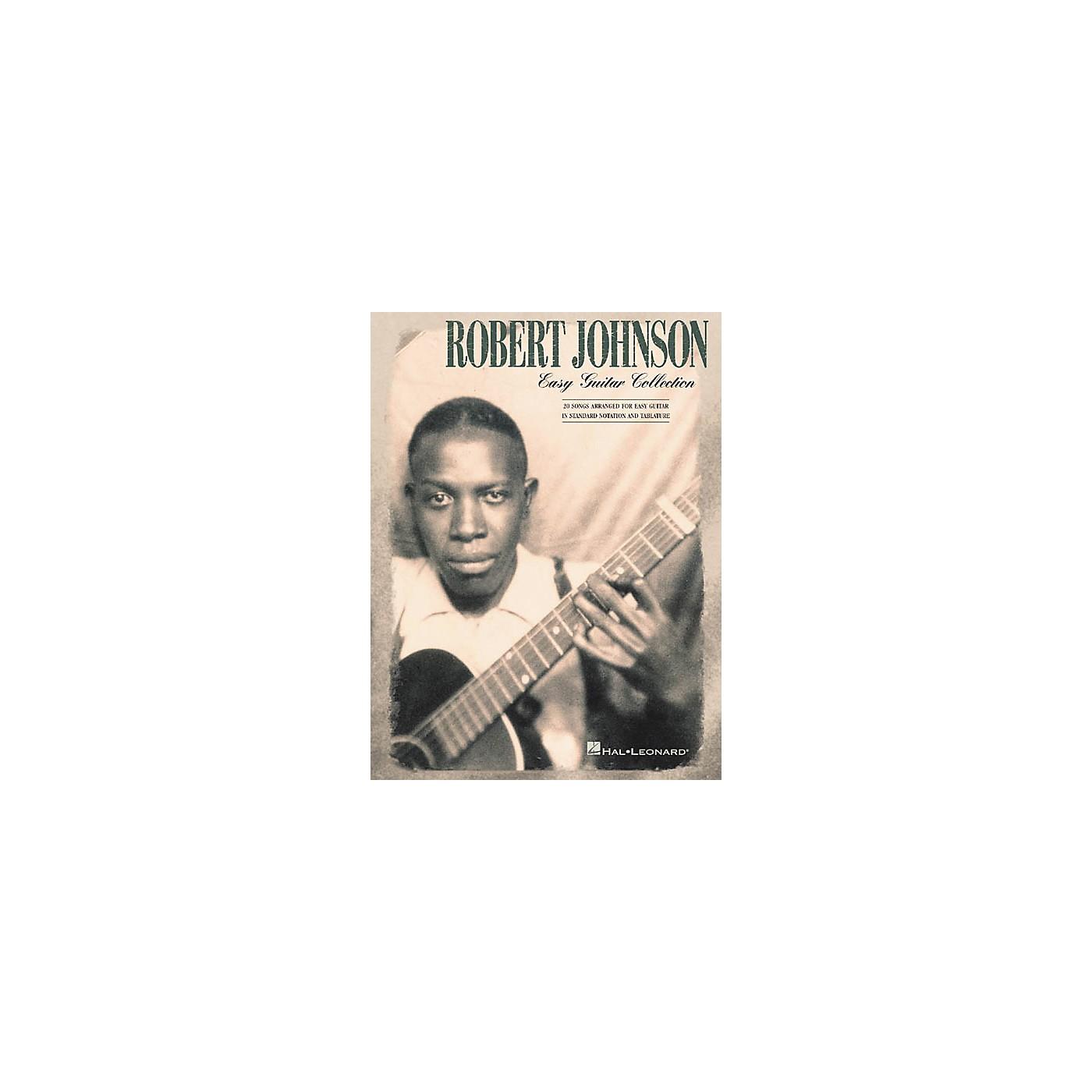 Hal Leonard Robert Johnson Collection Easy Guitar Tab Songbook thumbnail