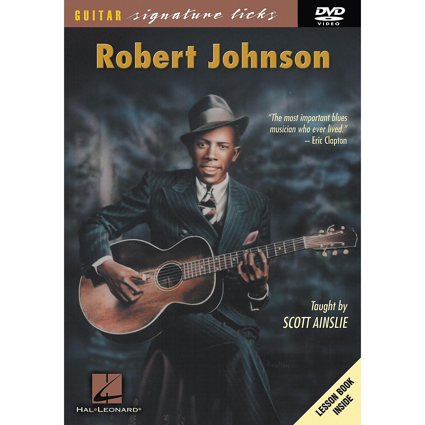 Hal Leonard Robert Johnson Guitar Signature Licks (DVD) thumbnail
