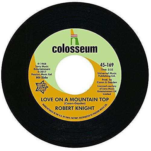 Alliance Robert Knight - Love On A Mountain Top / Everlasting Love thumbnail