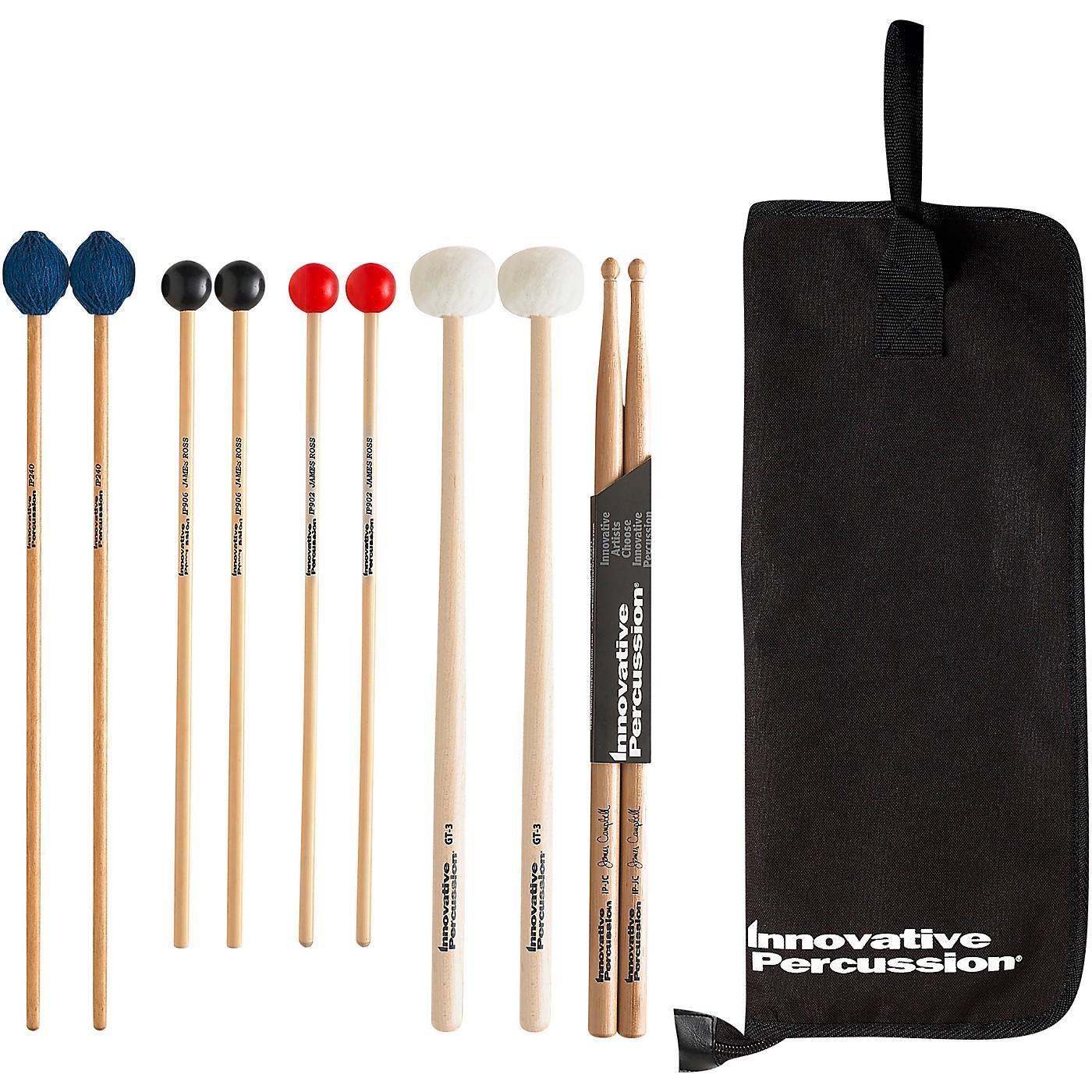 Innovative Percussion Robert Parks Intermediate Mallet Pack thumbnail