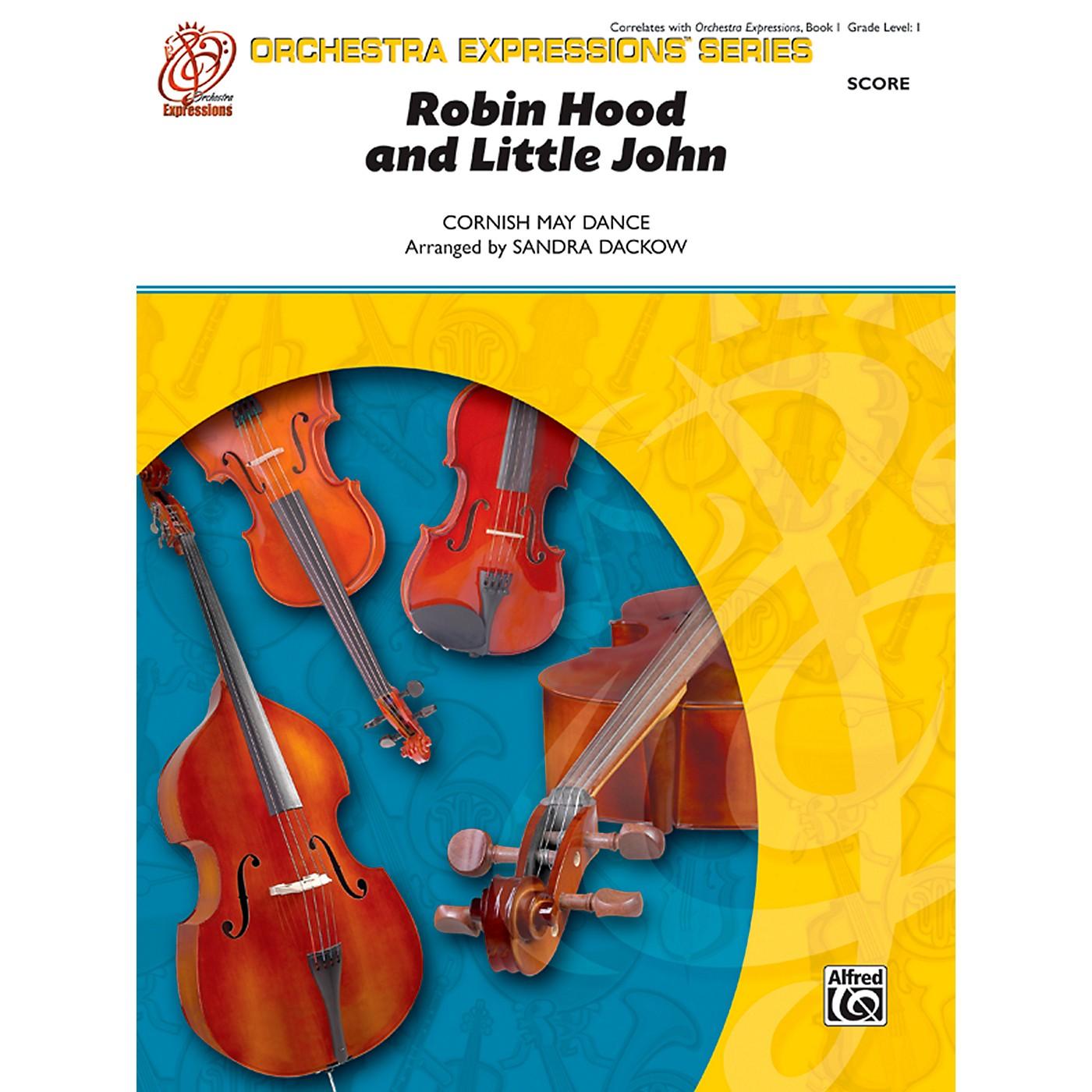 Alfred Robin Hood and Little John String Orchestra Grade 1 Set thumbnail
