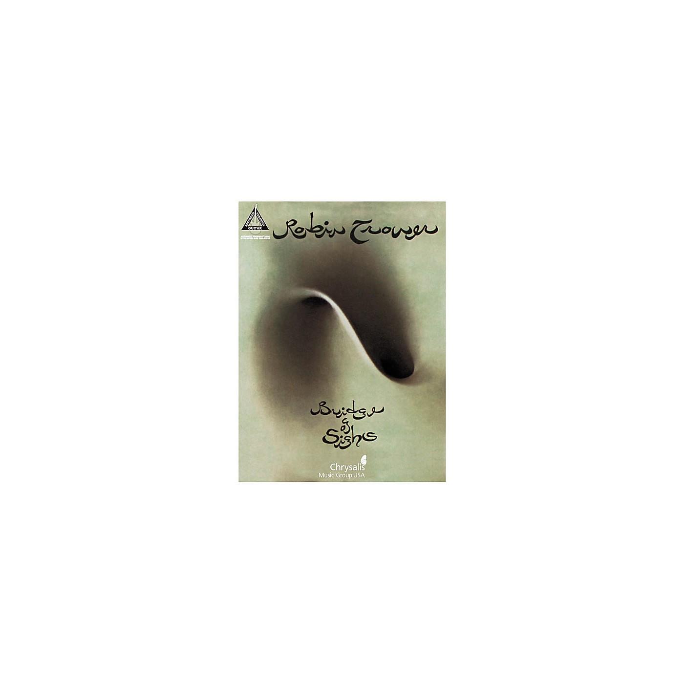 Hal Leonard Robin Trower Bridge of Sighs Guitar Tab Songbook thumbnail