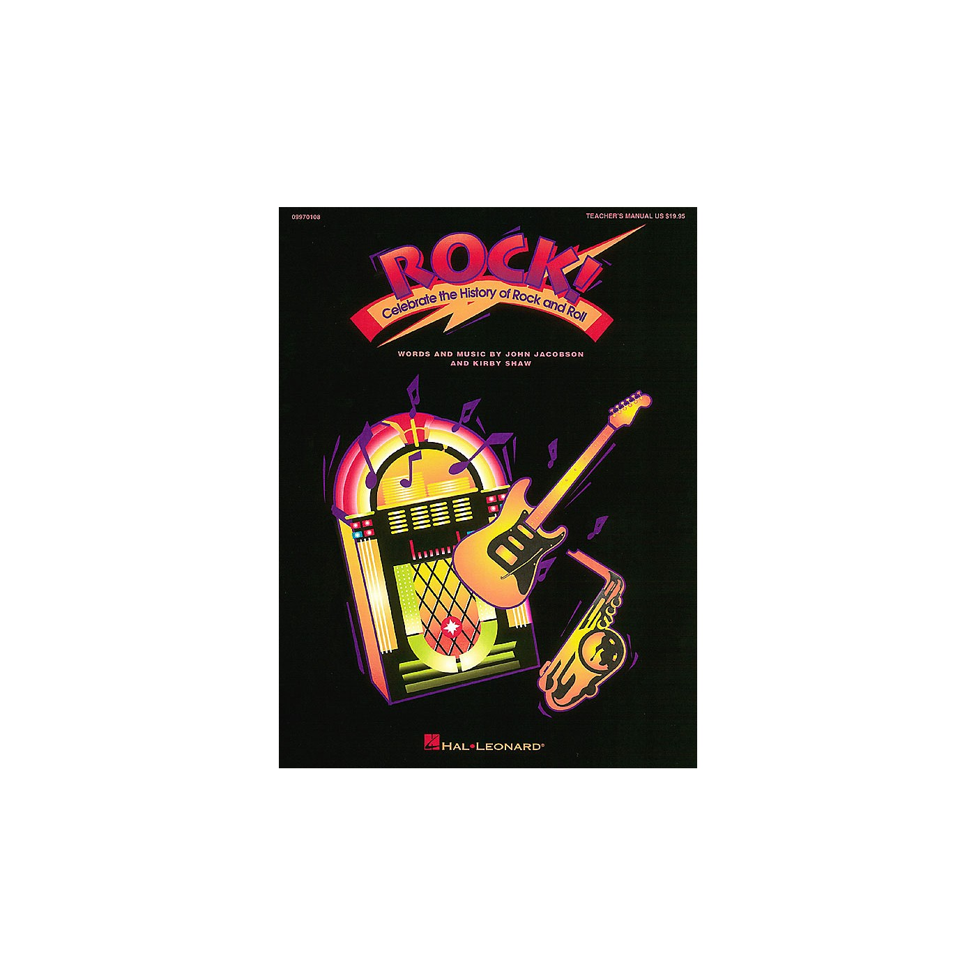 Hal Leonard Rock! - Celebrate the History of Rock and Roll (Musical) Singer 5 Pak Composed by Kirby Shaw thumbnail