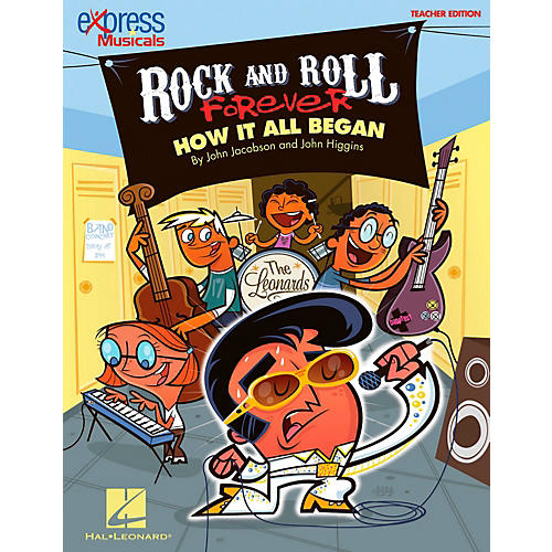 Hal Leonard Rock And Roll Forever - How It All Began (A 30-Minute Musical Revue) Classroom Kit-thumbnail