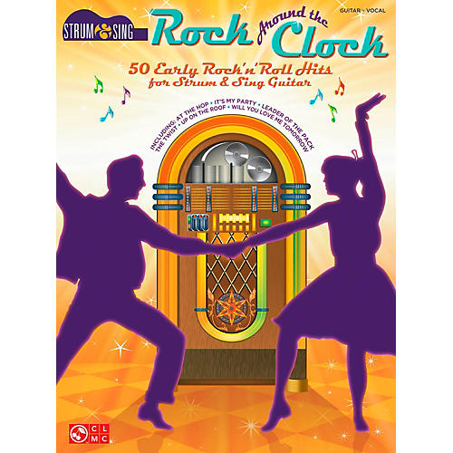 Cherry Lane Rock Around The Clock - 50 Early Rock 'N' Roll Hits from Strum & Sing Guitar Series thumbnail