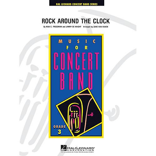 Hal Leonard Rock Around the Clock - Young Concert Band Level 3 arranged by Zane Van Auken thumbnail