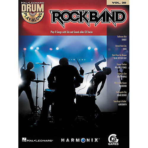 Hal Leonard Rock Band - Classic Rock Edition - Drum Play-Along Volume 20 Book/CD Set thumbnail