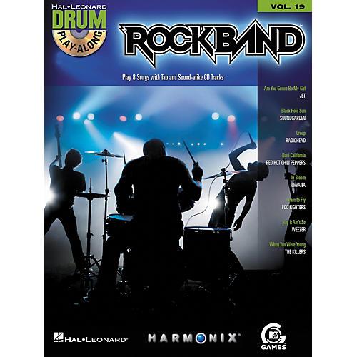 Hal Leonard Rock Band - Modern Rock Edition - Drum Play-Along Volume 19 Book/CD Set thumbnail