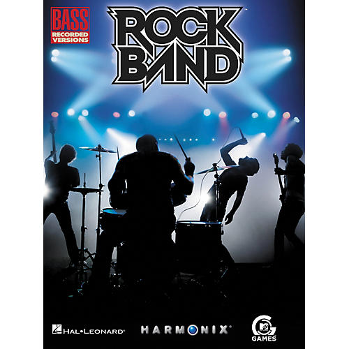 Hal Leonard Rock Band Bass Tab Songbook-thumbnail