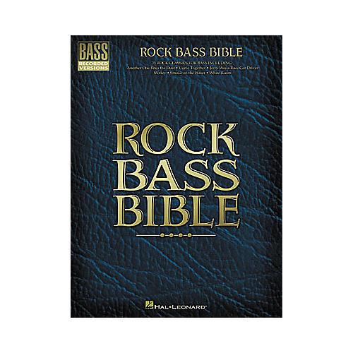 Hal Leonard Rock Bass Bible Tab Book thumbnail