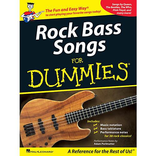 Hal Leonard Rock Bass Songs For Dummies-thumbnail
