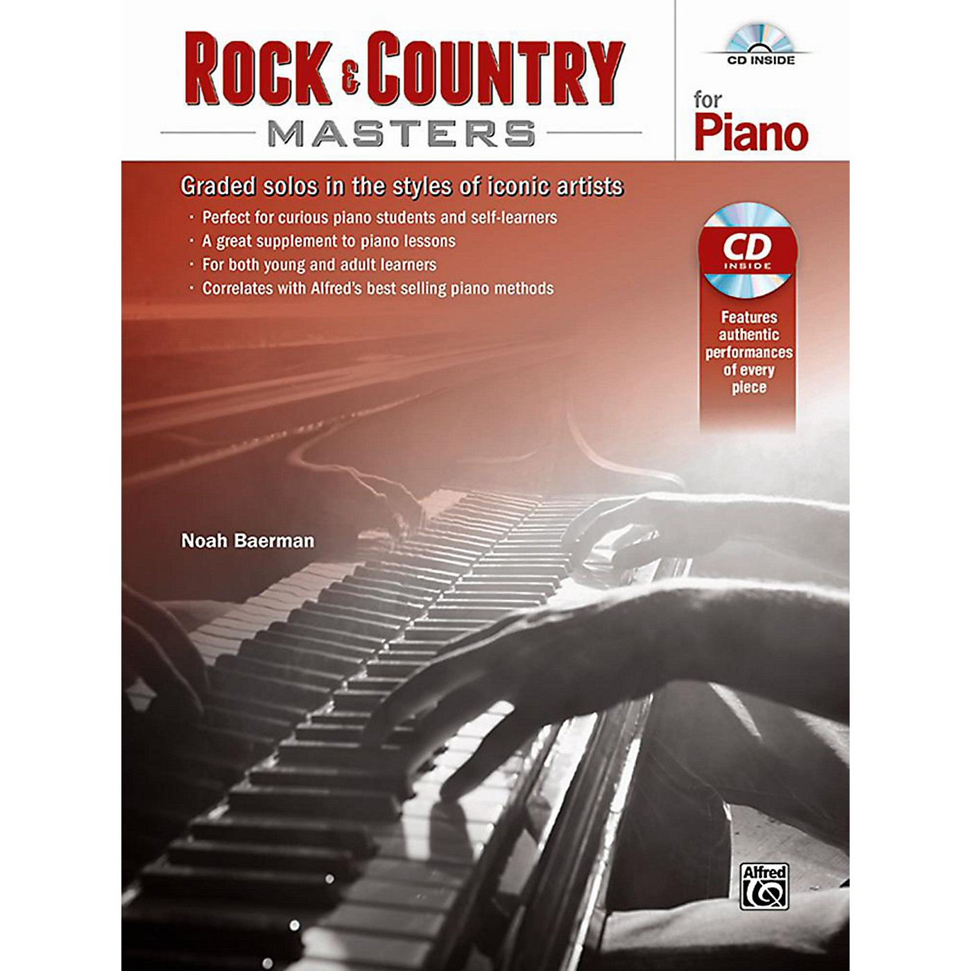 Alfred Rock & Country Masters for Piano - Book & CD thumbnail