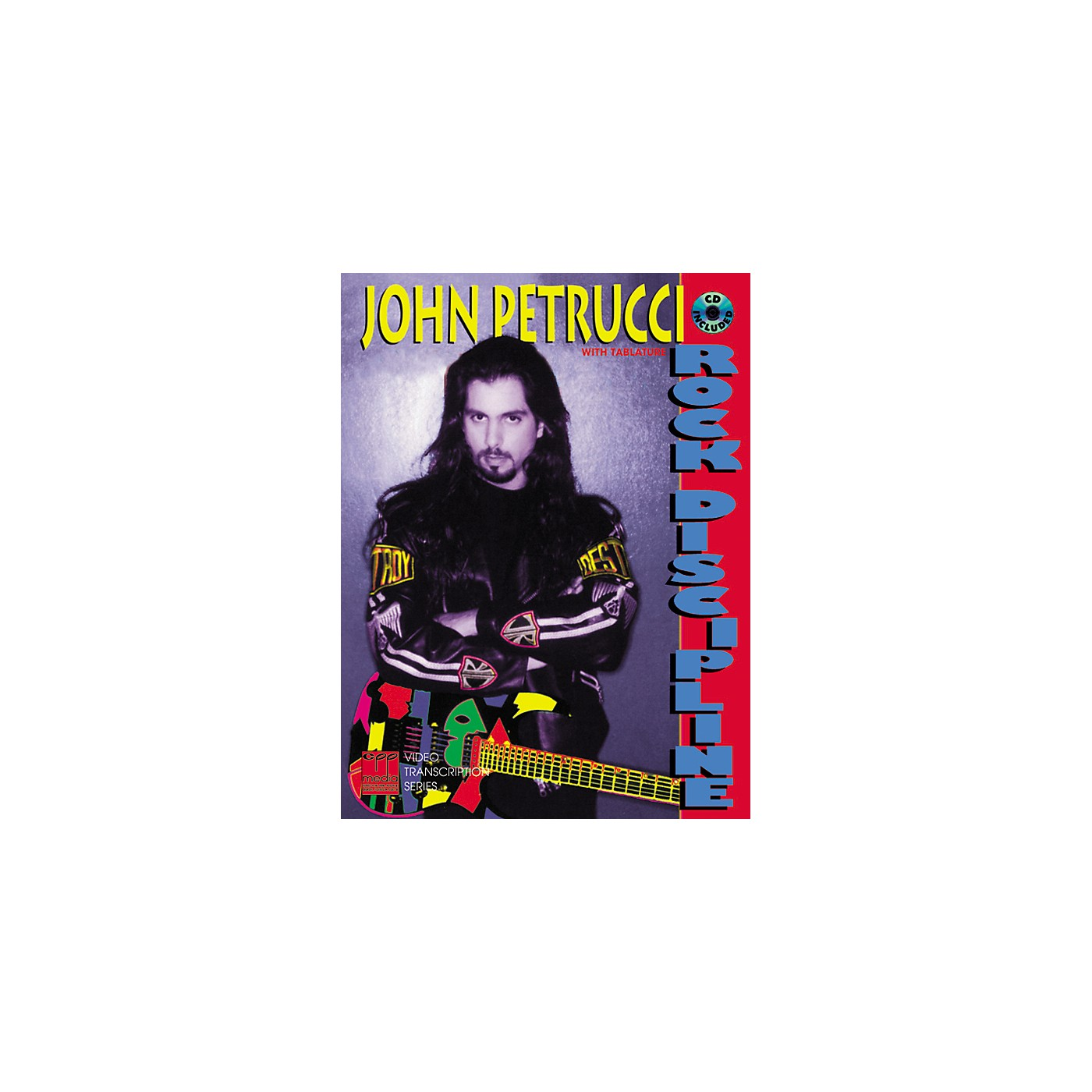 Alfred Rock Discipline by John Petrucci Book/CD thumbnail
